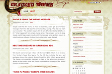 Cracked WordPress Theme