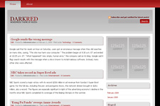 DarkRed WordPress Theme