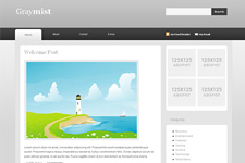 GrayMist WordPress Theme