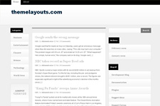 GrayZine WordPress Theme