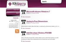 Sticky: Kikiberry Theme