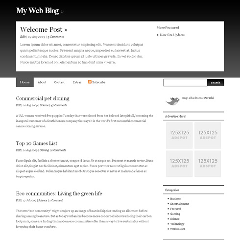 LucentView WordPress Theme