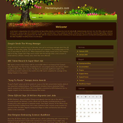 MagicTree WordPress Theme