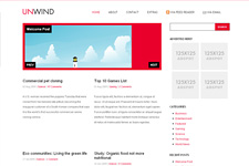 Unwind WordPress Theme