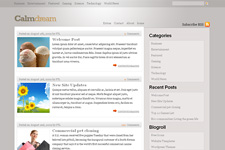 Calmdream WordPress Theme
